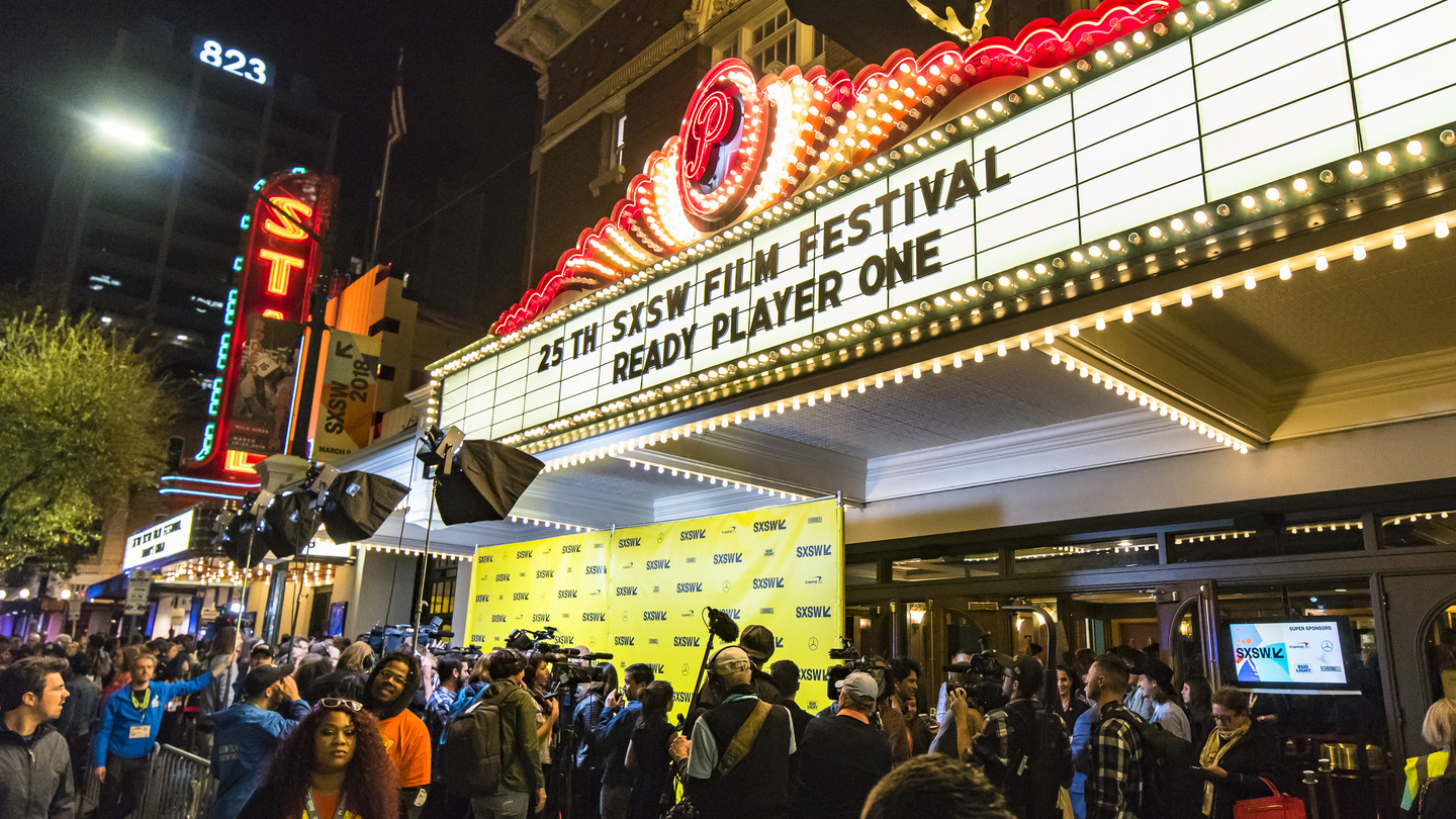 World Premiere of Ready Player One at the Paramount Theatre