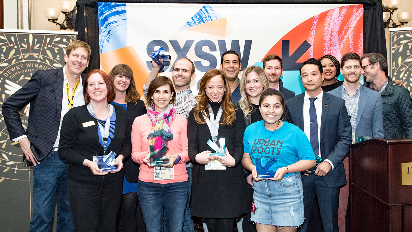 2018 SXSW Community Service Award Honorees - Photo by Robert Santos