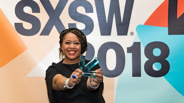 SXSW 2018 Community Service Awards Honoree - Photo by Robert Santos