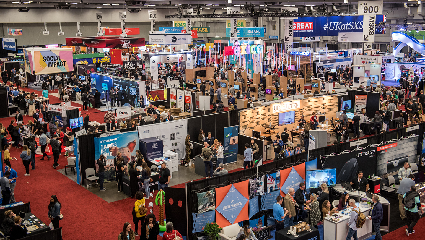 Exhibition Stand Rates : Trade show sxsw conference festivals