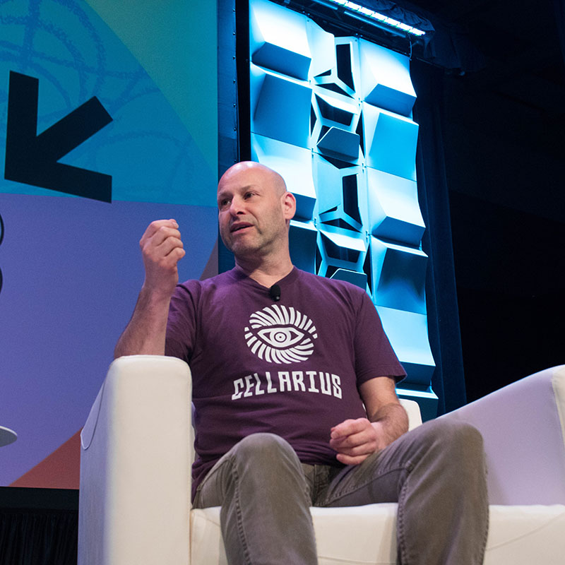 Joseph Lubin Why Ethereum Is Going to Change the World session SXSW 2018 - Photo by Will Blake