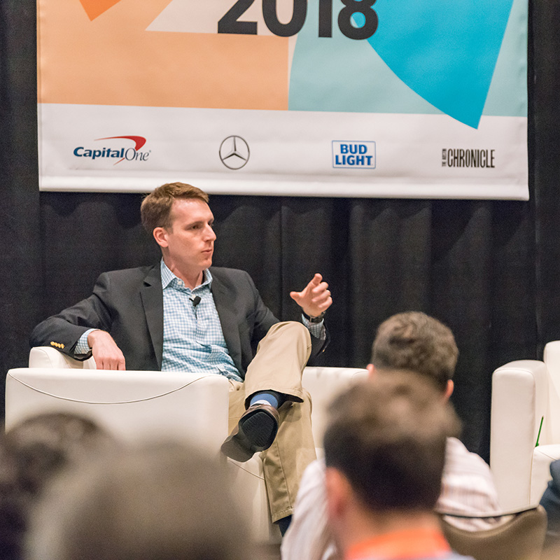David Fahrenthold Investigative Journalism in the Social Media Age SXSW 2018 - Photo by Scott Paxton