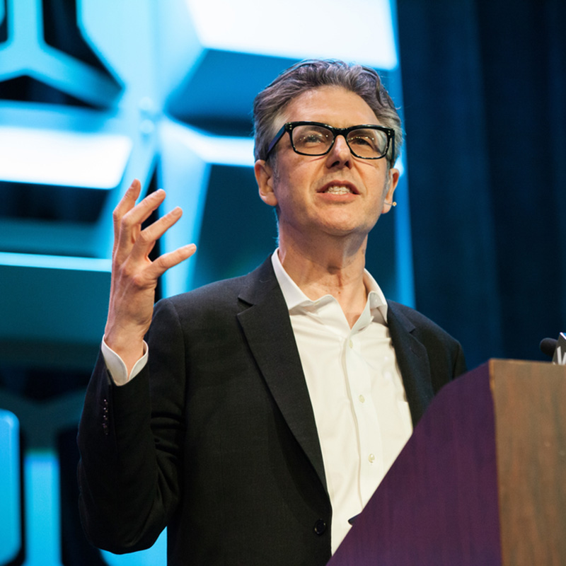 Ira Glass Accidentally Making the Most Popular Podcasts Ever session SXSW 2018 - Photo by Benedict Jones