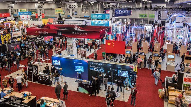 SXSW Trade Show Floor 2018