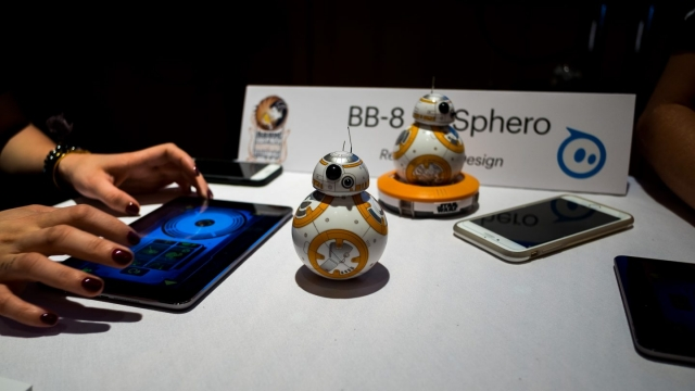 SXSW Interactive Innovation Awards 2016 Finalist Showcase Winner Sphero - Photo by Corey Mendez