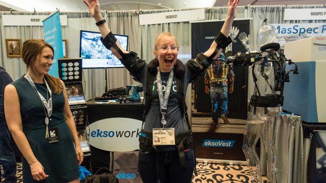 Interactive Innovation Awards 2018 Finalist EksoVest - Photo by Steven Snow