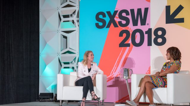 Whitney Wolfe Herd at SXSW 2018 by Scott Paxton
