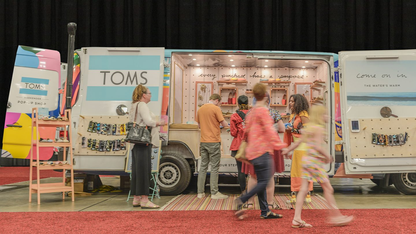 Toms at SXSW Marketplace 2018 - Photo by Matthew Bradford