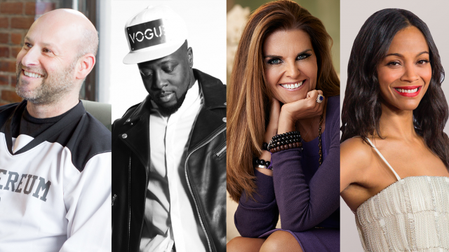 SXSW Keynote Joseph Lubin & Featured Speakers Wyclef Jean, Maria Shriver, and Zoe Saldana