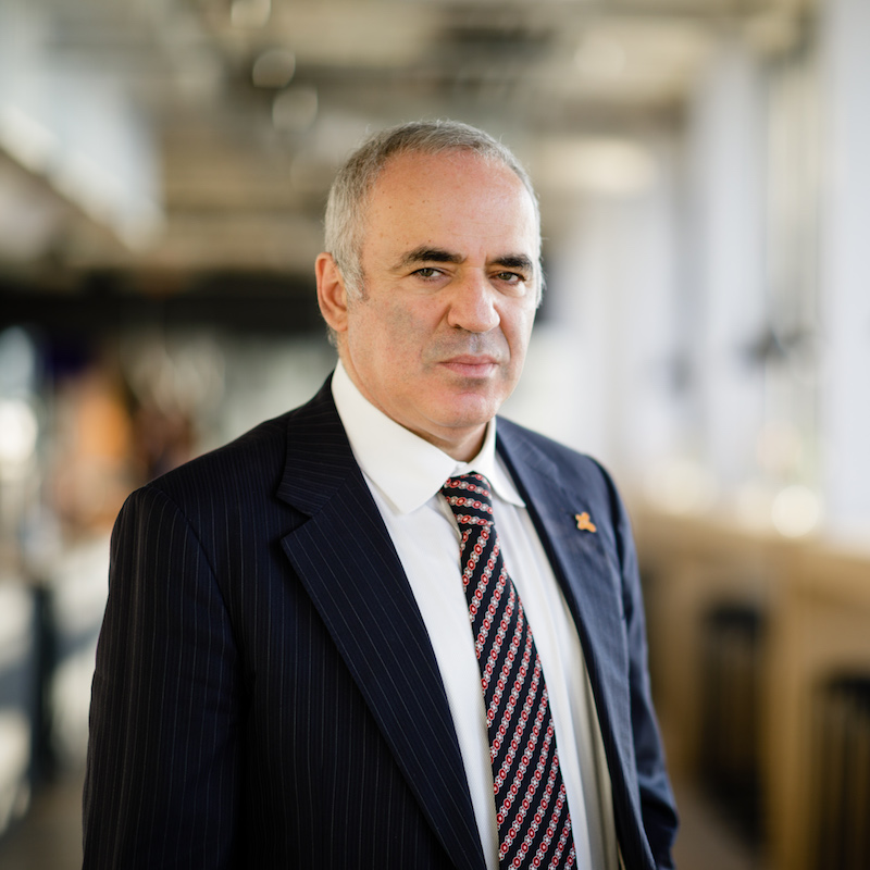 Garry Kasparov - Photo courtesy of the Speaker
