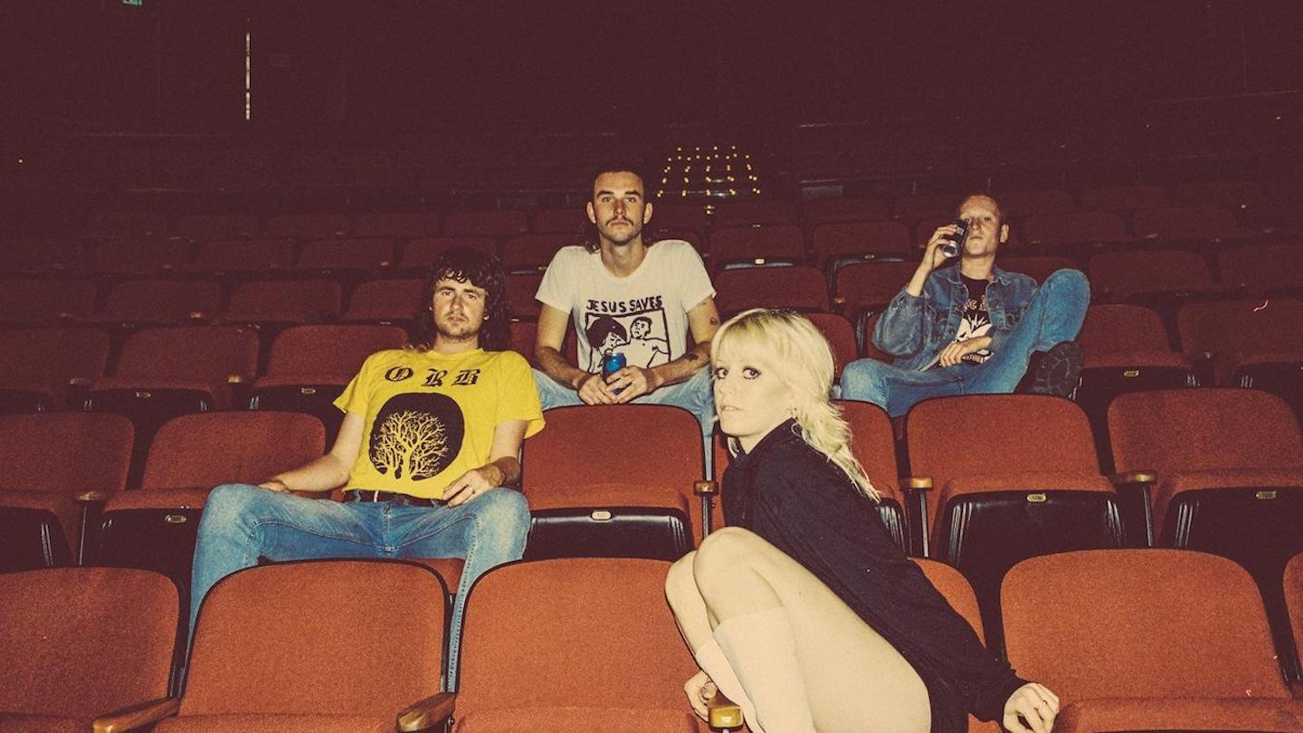 Amyl & The Sniffers - Photo by Jamie Wdziekonski