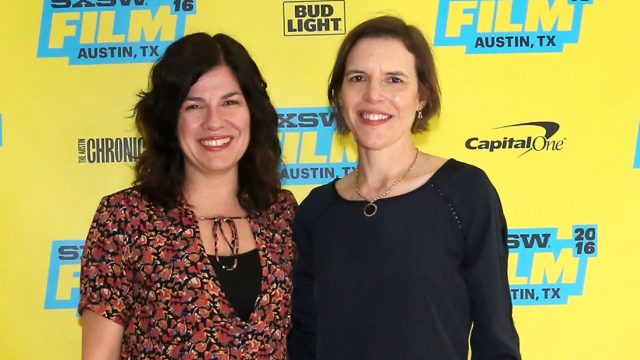 AUSTIN, TX - MARCH 14: Writer/directors Annie J. Howell (L) and Lisa Robinson attend the premiere of