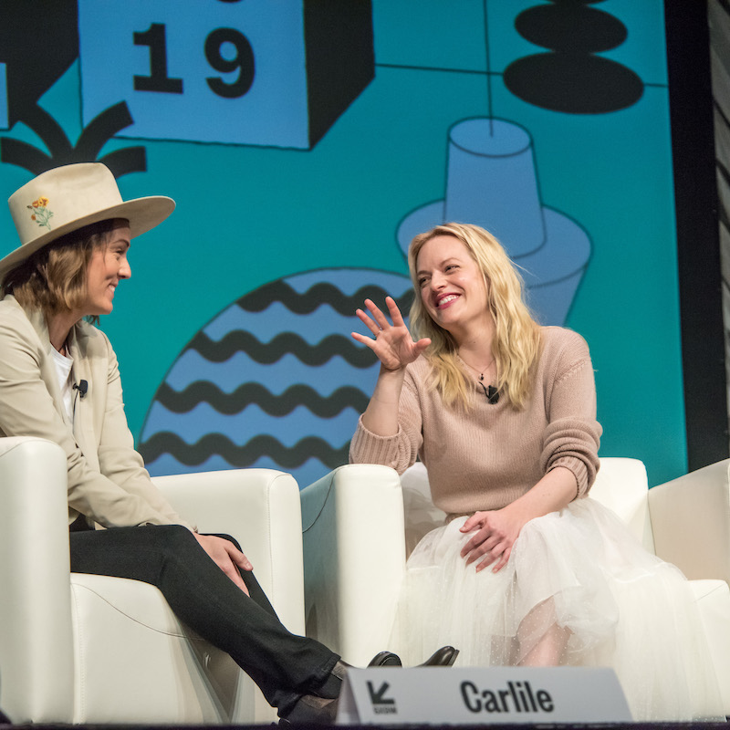 Brandi Carlile and Elizabeth Moss - Photo by Amanda Stronza