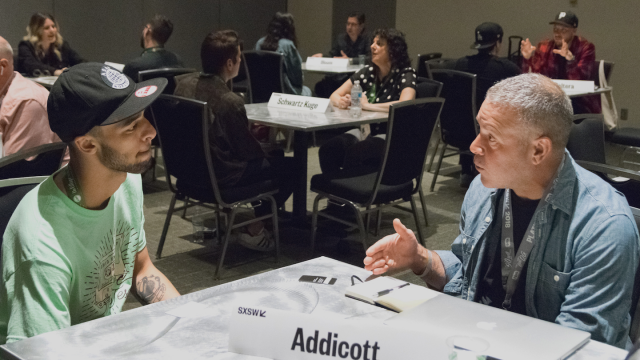 2018 Music Industry Mentor Session - Photo by Katie Marriner