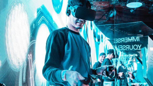 VR Exhibition - Photo by Kaylin Balderrama