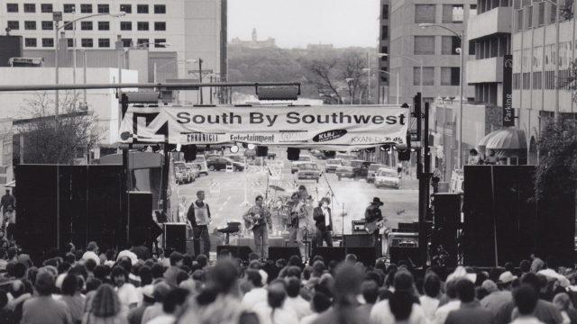 Ian Moore - SXSW 1998 -by Michelle Dapra