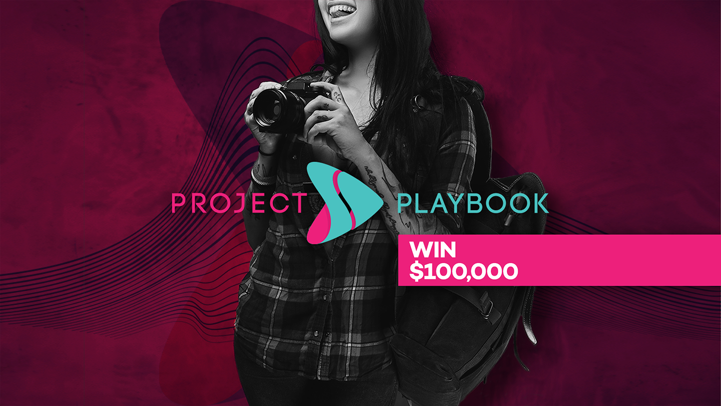 $100,000 Up For Grabs in the World's Largest Digital Talent Search, Powered By Playbook Hub.