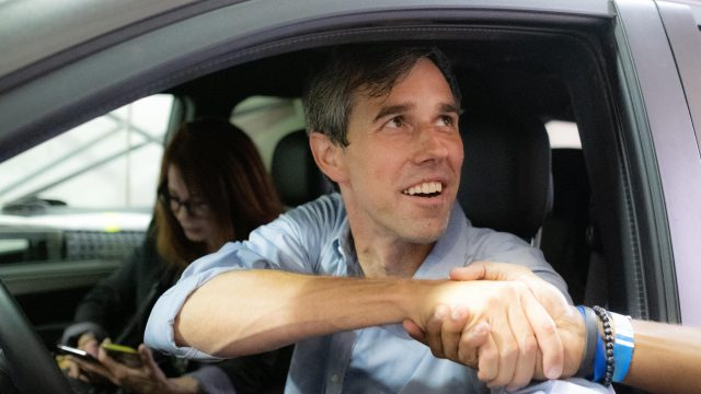 Running With Beto - Photo by Charlie Gross