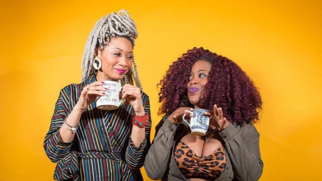 2019 SXSW Podcast Stage, Tea with Queen and J