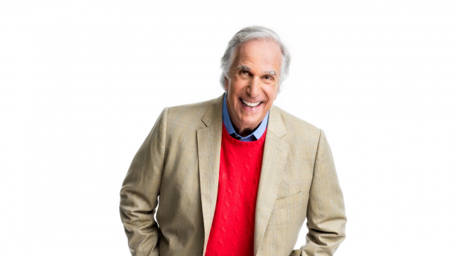 Henry Winkler - Photo courtesy of speaker