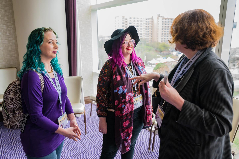 Women Who Create Meet Up at the Fairmont - Photo by Ann Alva Wieding