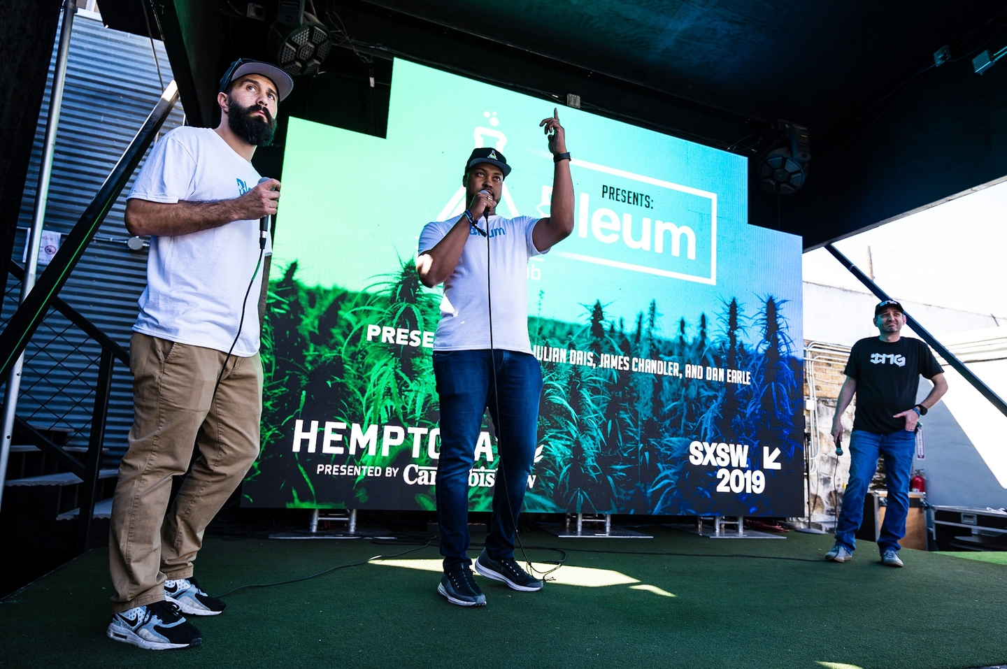 The Hemp Today activation featured panel discussions with professional athletes & leading industry experts, film screenings, live music, product launches, and more. Photo by Ann Alva Wieding