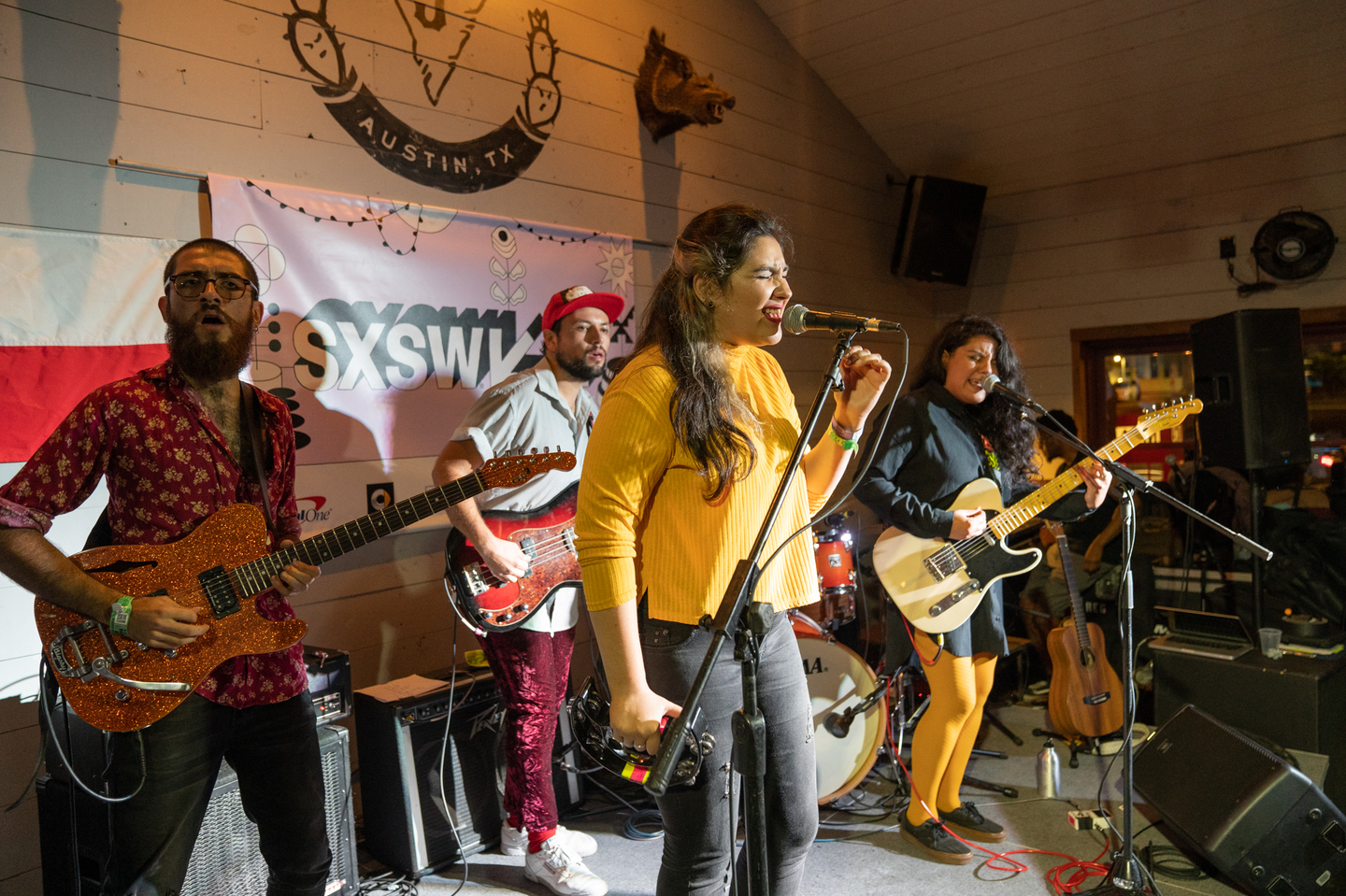 Yorka performs at the Sounds from Chile showcase at Javalina.