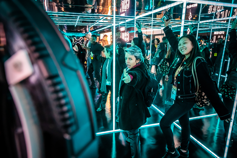 AXE at the SXSW Gaming Expo – Photo by Aaron Rogosin