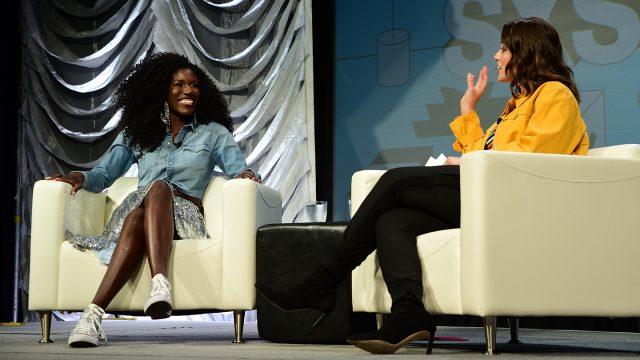 Bozoma Saint John and Ashley Graham Keynote - 2019 - Photo by Katie Marriner
