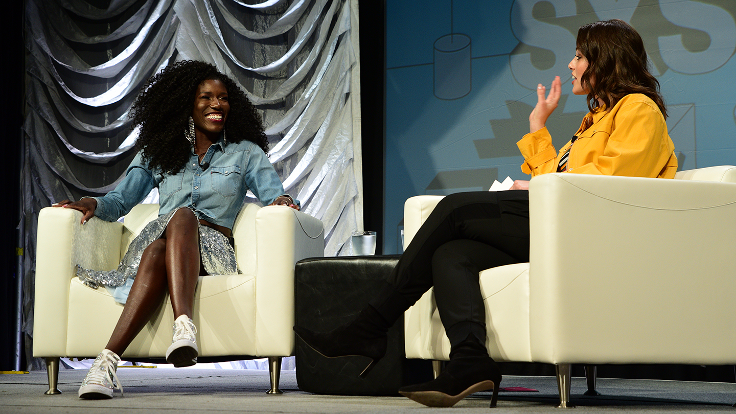 Bozoma Saint John and Ashley Graham Keynote - 2019 - Photo by Katie Marriner
