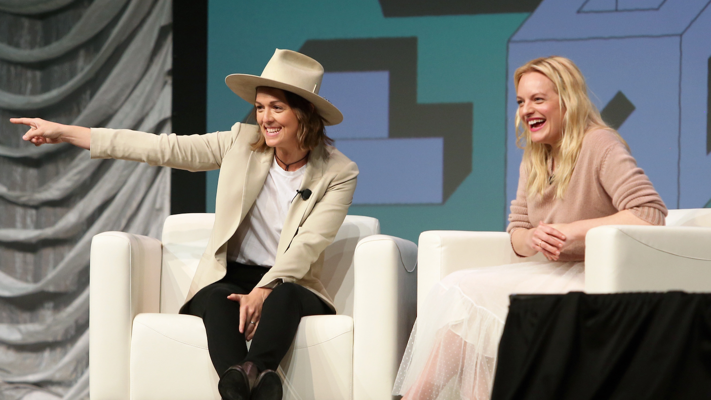Featured Session: Elisabeth Moss with Brandi Carlile - Photo by Travis P Ball/Getty Images for SXSW