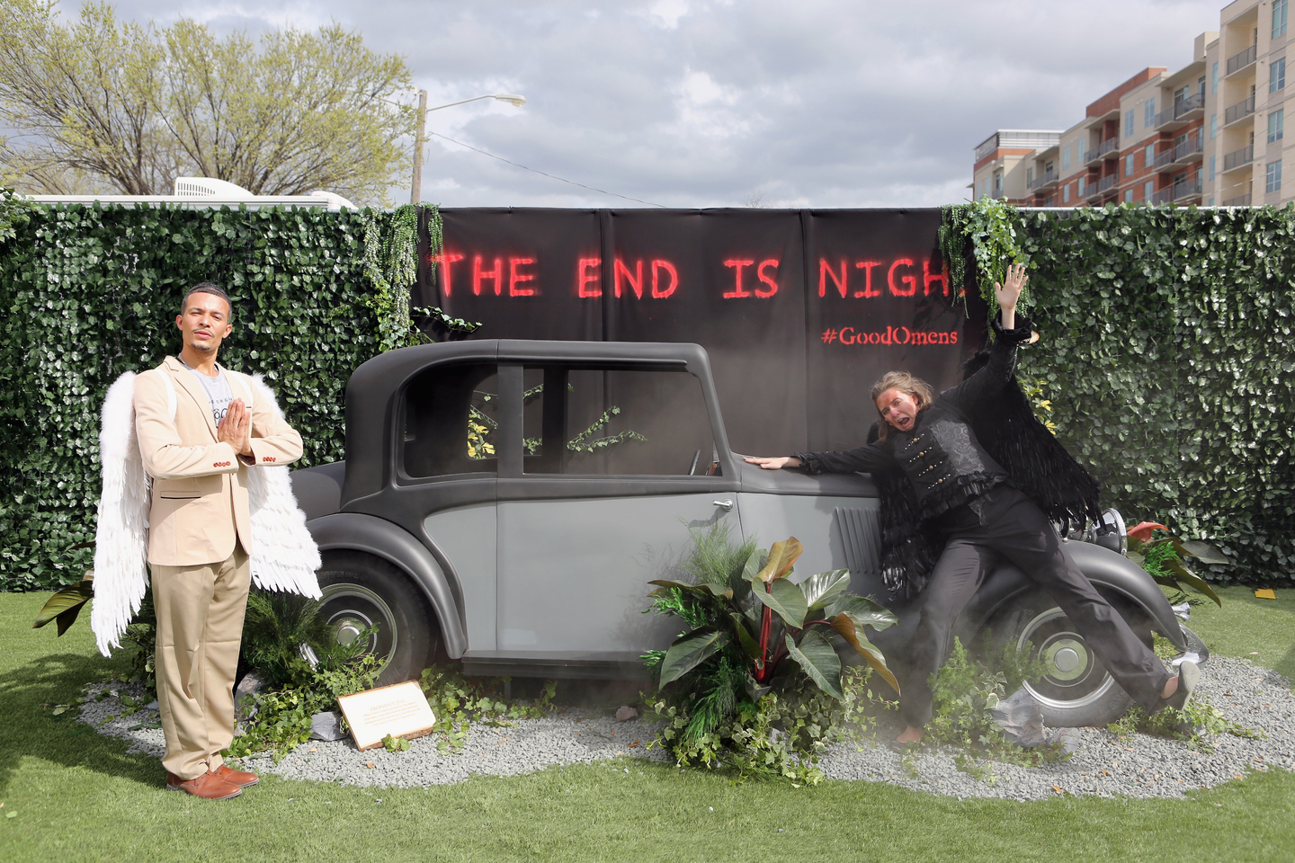 Amazon Prime Video's Good Omens Garden of Earthly Delights - Photo by Travis P Ball/Getty Images for SXSW