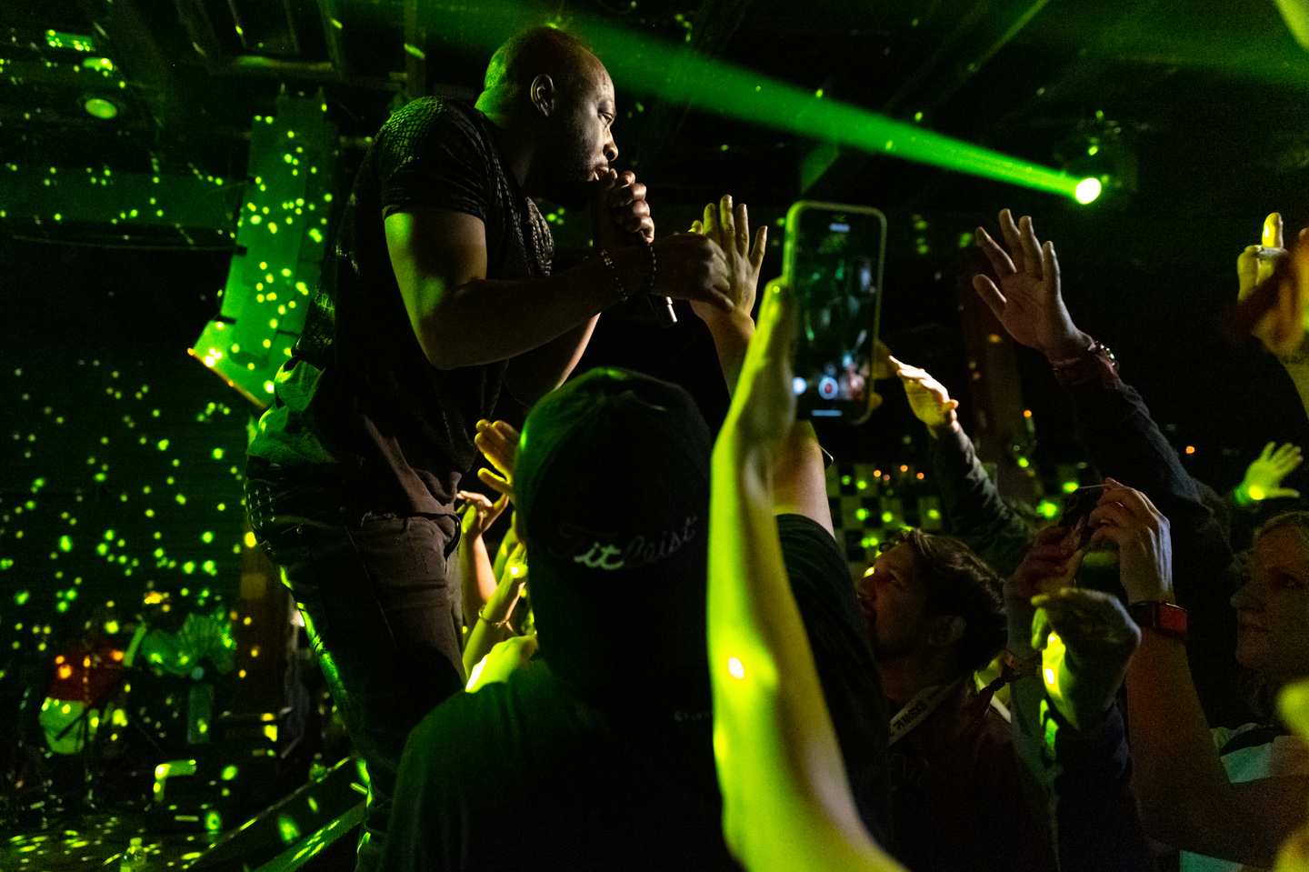 Wyclef Jean at Parish, presented by HEADS music – Photo by Miguel Esparza