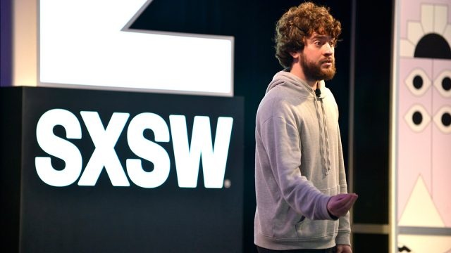 Featured Session: Jailbreaking the Simulation with George Hotz - 2019 SXSW Conference and Festivals - Photo by Nicola Gell