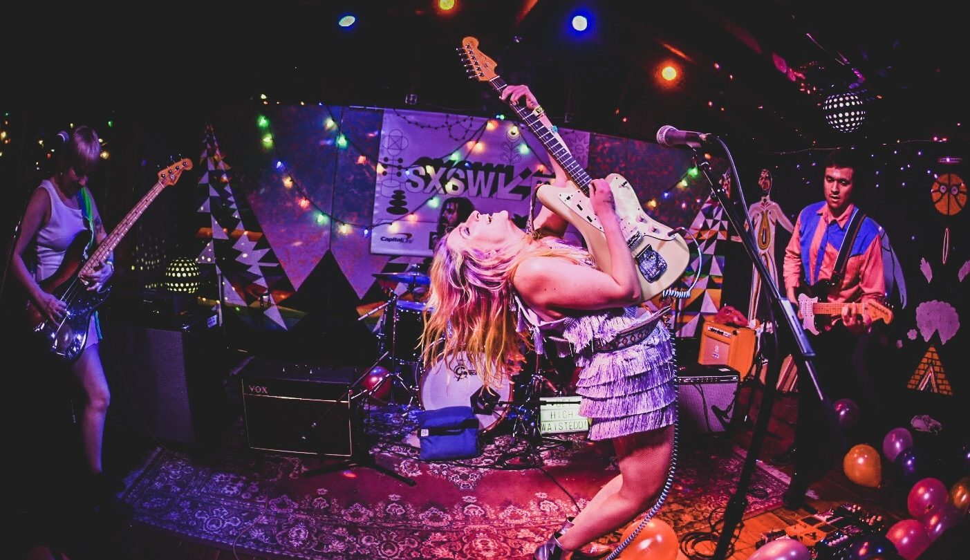 High Waisted at Cheer Up Charlie's, presented by Siren Sounds PR – Photo by Renee Dominguez