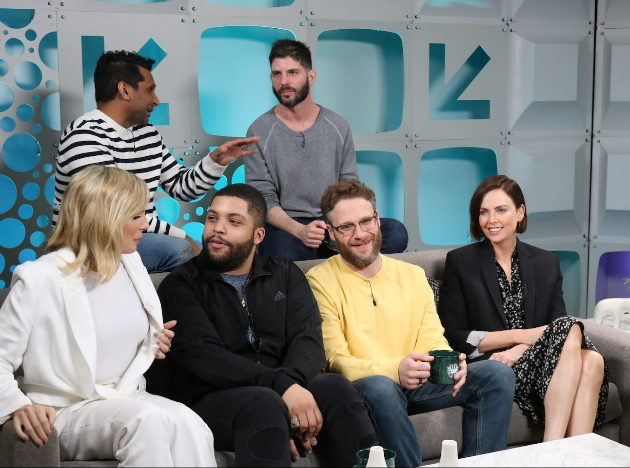The cast of Long Shot stop by the studio of SXSW Live.