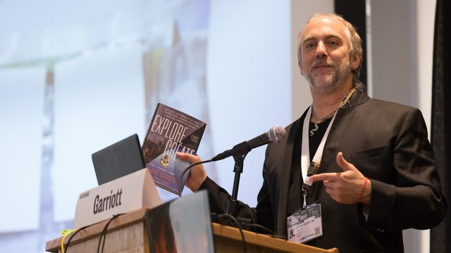 "Richard Garriott's ""Explore/Create"" - Photo by Jay Nicholas"