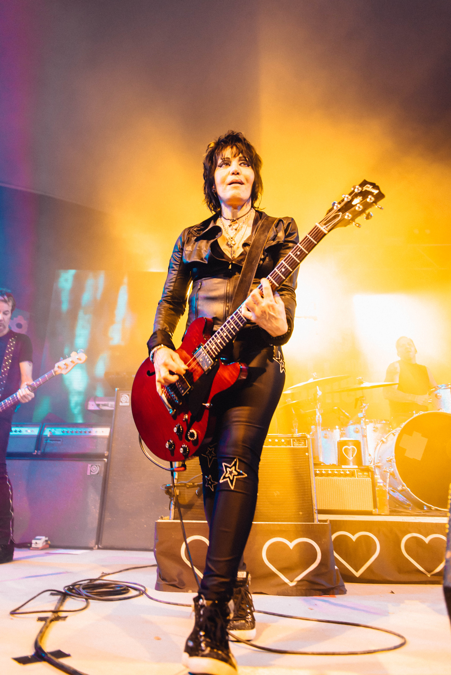 Joan Jett performs at the SXSW Interactive Bash presented by Media Temple at Stubb's.