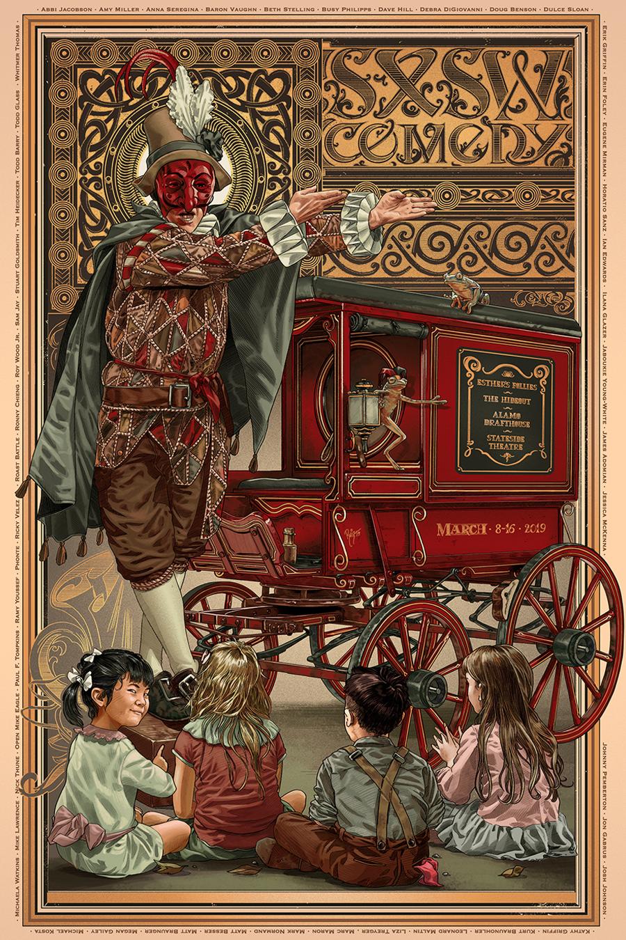 Juan Carlos Ruiz Burgos-SXSW Comedy poster