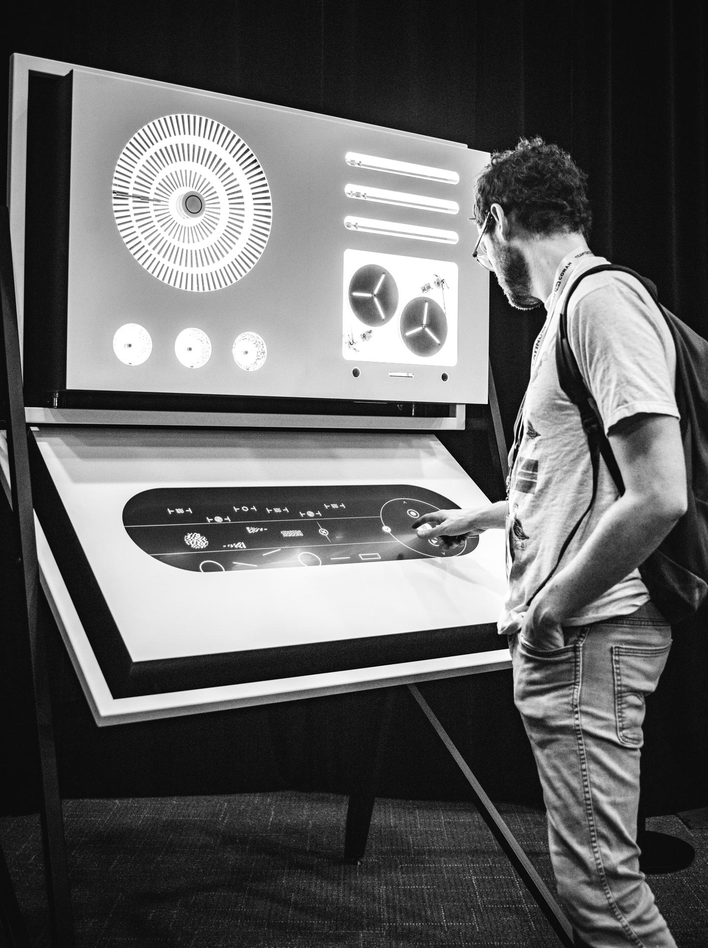 SXSW Art Program Presents APPARATUM by panGenerator - Krzysztof Cybulski, Krzysztof Goliński, Jakub Koźniewski. Check it out in Room 10C of the Austin Convention Center.