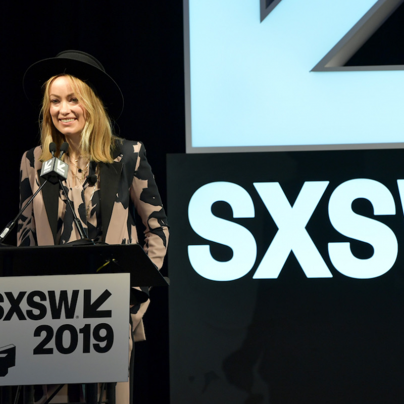 Olivia Wilde Film Keynote - Photo by Danny Matson