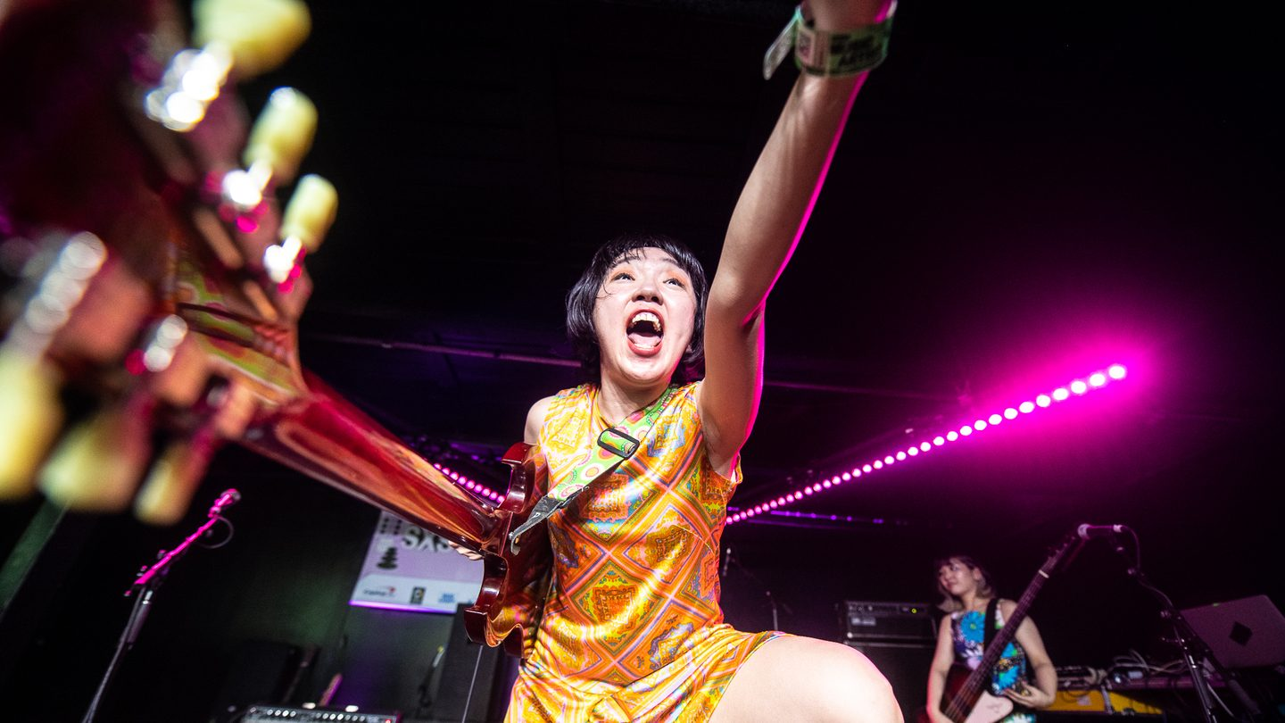Otoboke Beaver at the Music Opening Party presented by Music.com at The Main.