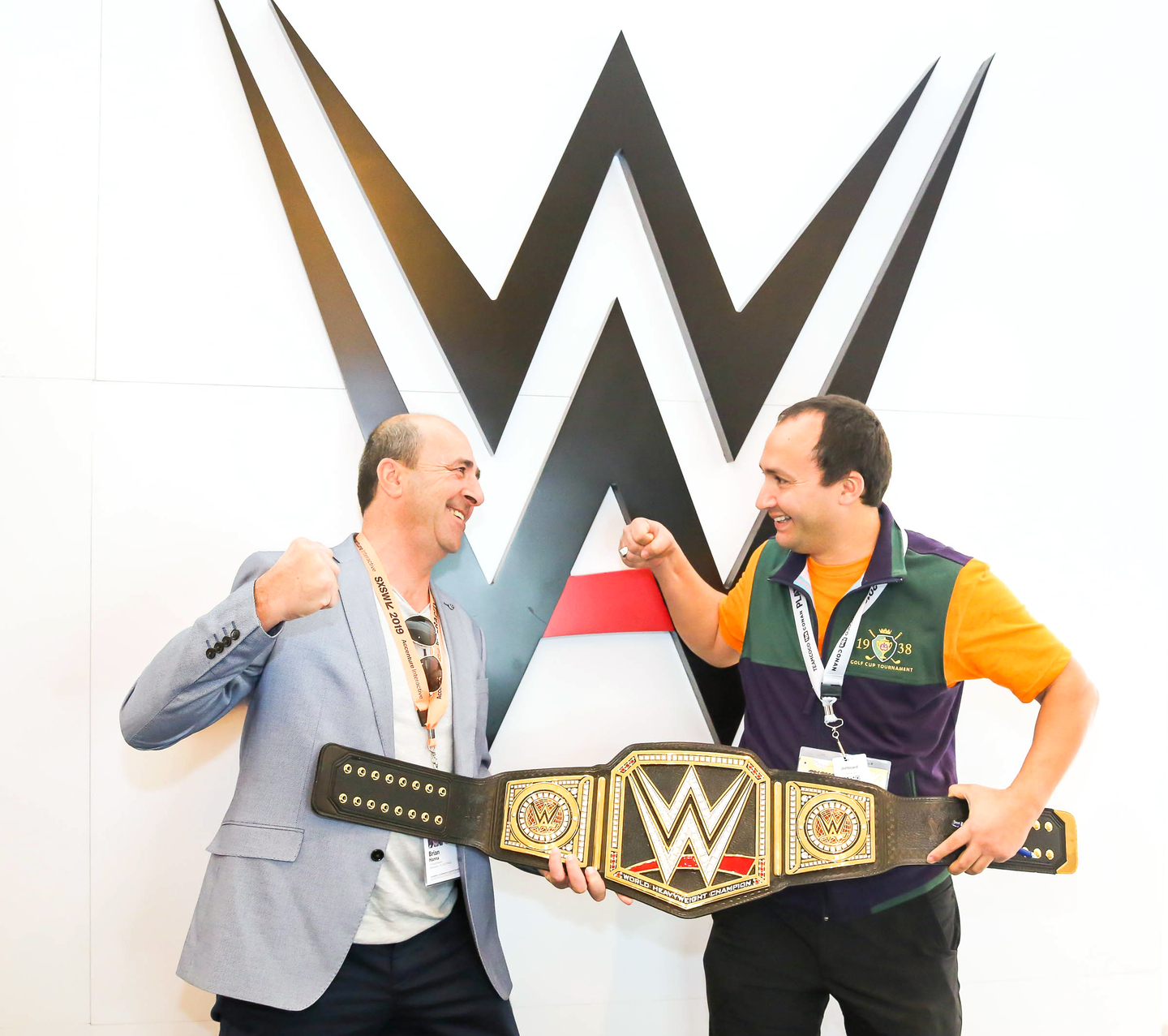 Be sure to stop by The WWE Lounge at the JW Marriott. Photo by Diego Donamaria