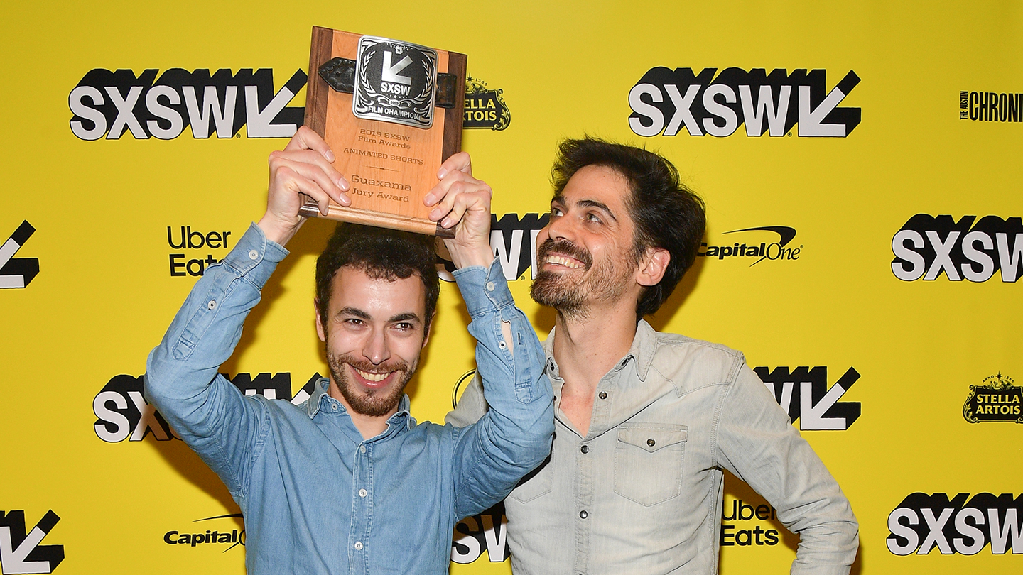 Damien Pechberty and Justin Megherbi at SXSW Film Awards – Photo by Matt Winkelmeyer/Getty Images for SXSW