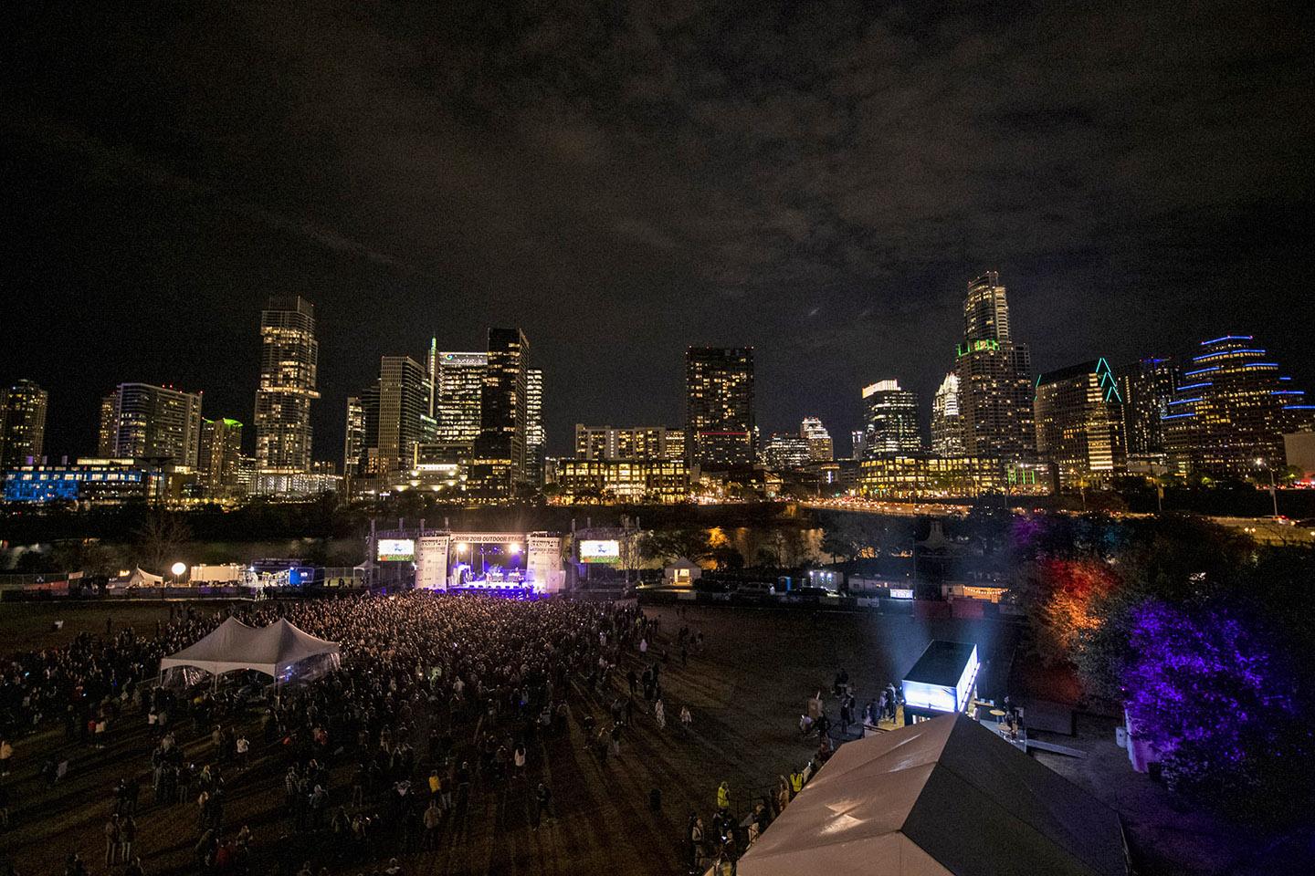 SXSW Outdoor Stage at Lady Bird Lake – Photo by David Brendan Hall