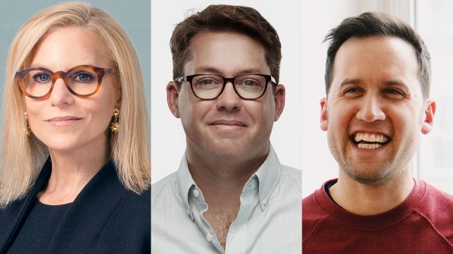 SXSW 2019 Convergence Keynote Speakers Dawn Ostroff, Matt Lieber, and Michael Mignano