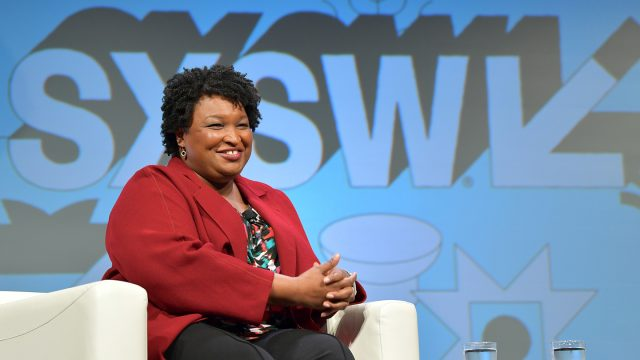 2019 Featured Speaker, Stacey Abrams - Photo by Danny Matson/Getty Images for SXSW