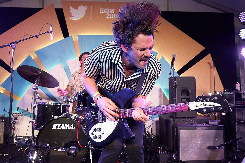 The Brummies performing onstage at #TwitterHouse at Lustre Pearl. Photo by Naveed Parekh