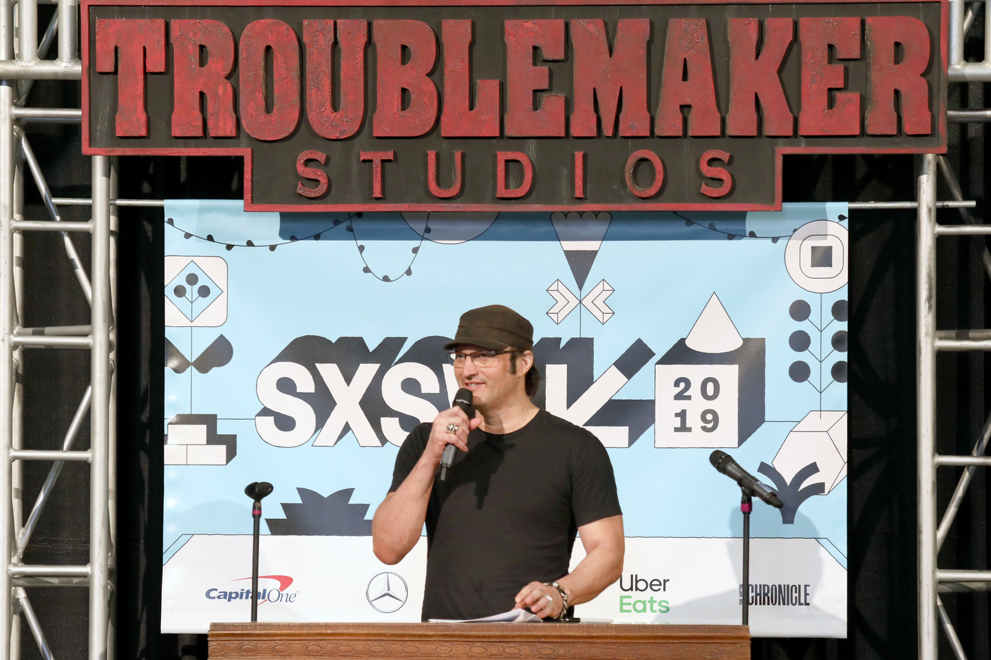 Robert Rodriguez at the SXSW Filmmakers Luncheon at Troublemaker Studios - Photo by Samantha Burkardt/Getty Images for SXSW