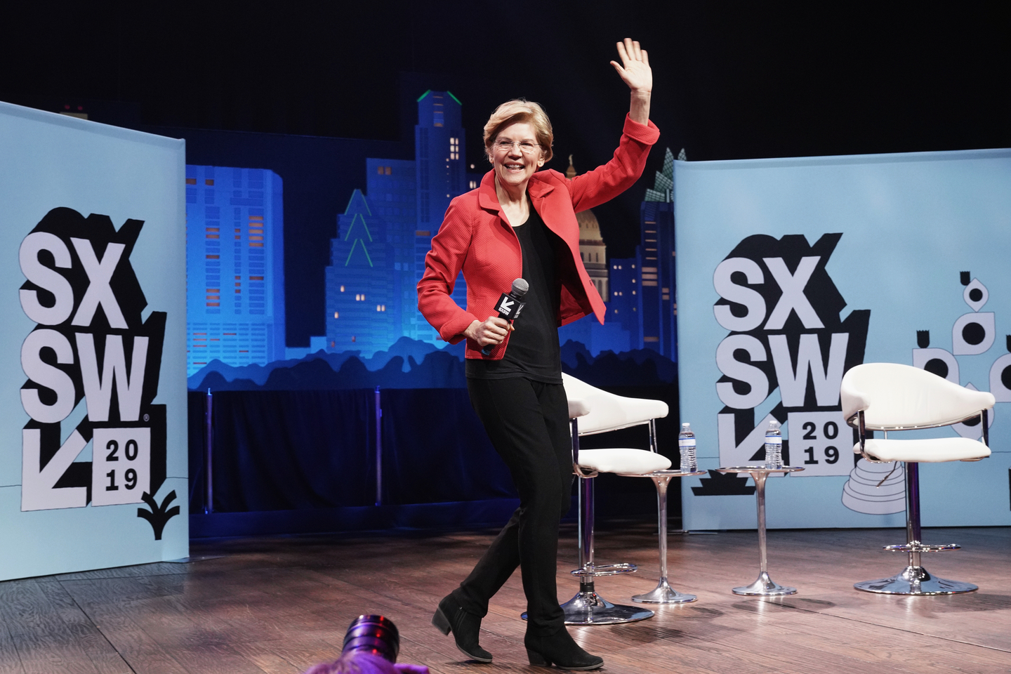Senator Elizabeth Warren at the Conversations About America's Future series at Austin City Limits Live at the Moody Theater.